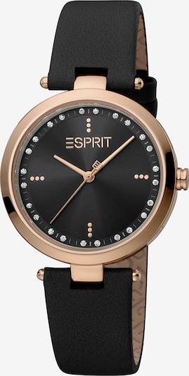 ESPRIT Quarzuhr in schwarz, Produktansicht