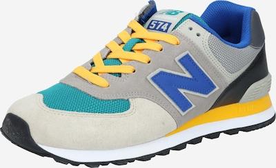 new balance Sneaker in blau / grau / hellgrau / mischfarben / orange, Produktansicht