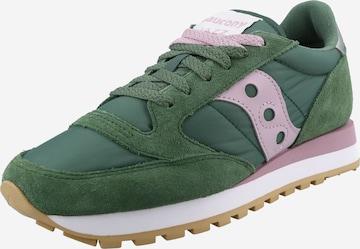 Sneaker bassa 'Jazz' di saucony in verde