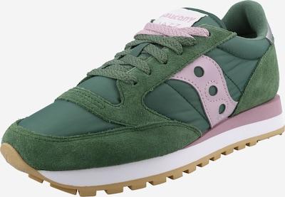 saucony Zemie brīvā laika apavi 'Jazz', krāsa - zaļš / lillā, Preces skats