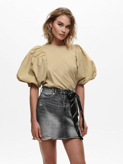 ONLY Shirt 'Vera' in de kleur Sand: Vooraanzicht