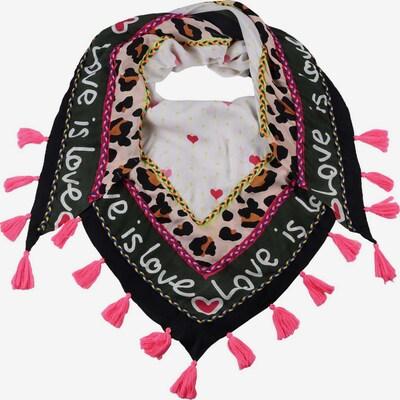 Foulard Zwillingsherz di colore rosa / nero / bianco, Visualizzazione prodotti