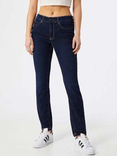 MAC Jean en bleu foncé, Vue avec modèle