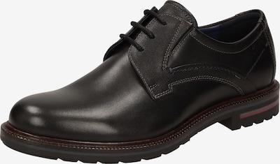 SIOUX Schnürschuh ' Dilip' in schwarz, Produktansicht