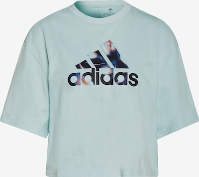 ADIDAS PERFORMANCE Functioneel shirt in de kleur Nachtblauw / Jade groen / Sinaasappel / Wit, Productweergave