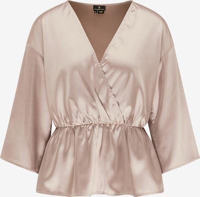 DreiMaster Klassik Bluse in camel, Produktansicht