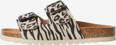 VERO MODA Pantofle 'Alda' - béžová / světle hnědá / černá, Produkt