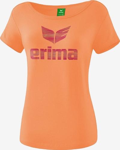 ERIMA Funktionsshirt in orange / rot, Produktansicht