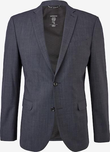 s.Oliver BLACK LABEL Veste de costume en bleu foncé: Vue de face