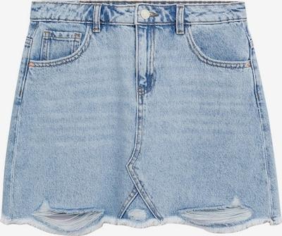 MANGO KIDS Rok in de kleur Hemelsblauw / Wit, Productweergave