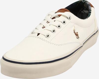 Polo Ralph Lauren Sneaker 'KEATON PONY' in creme / braun, Produktansicht