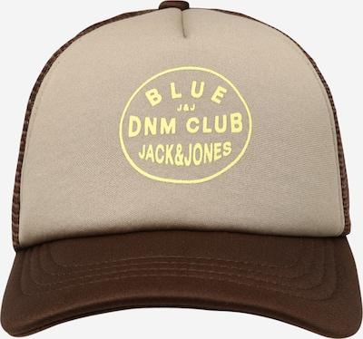 Pălărie 'ACARCHIE' Jack & Jones Junior pe bej / maro închis / galben, Vizualizare produs