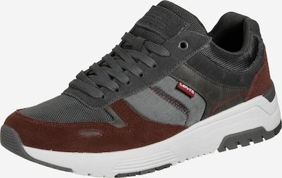 LEVI'S Sneaker ' Pinecrest ' in anthrazit / bordeaux, Produktansicht