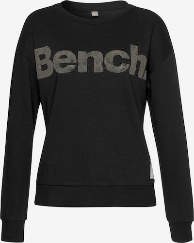BENCH Sweatshirt in de kleur Taupe / Zwart, Productweergave