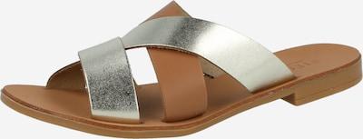 PIECES Pantofle - zlatá, Produkt