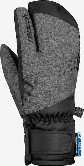 REUSCH Handschuh 'Dario R-TEX® XT Lobster' in schwarz / schwarzmeliert, Produktansicht