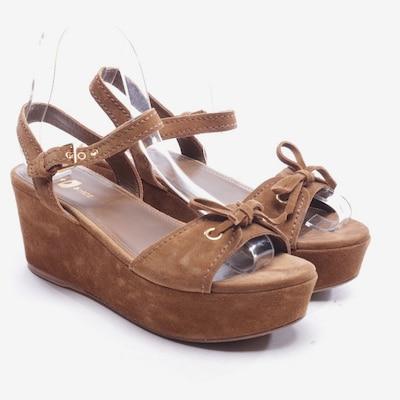 Car Shoe Sandaletten in 37 in camel, Produktansicht