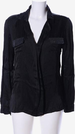 iSilk Langarm-Bluse in M in schwarz, Produktansicht