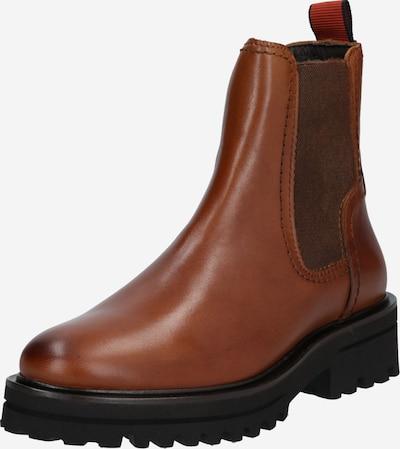 Marc O'Polo Chelsea Boots en cognac, Vue avec produit