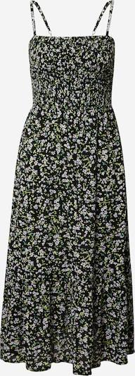 Tommy Jeans Robe d'été en bleu clair / jaune clair / rose / noir / blanc, Vue avec produit