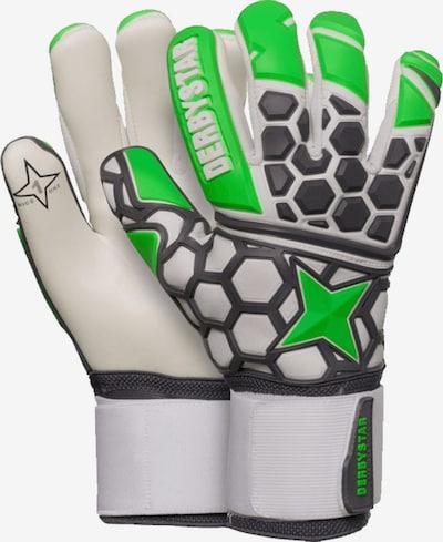 DERBYSTAR Handschuh in grün / schwarz / weiß, Produktansicht