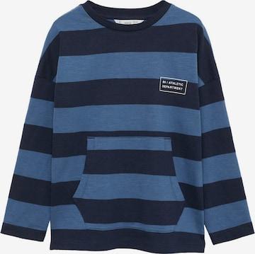 Tricou 'RUGBY' de la MANGO KIDS pe albastru
