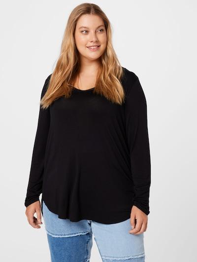 Cotton On Curve Shirt in schwarz: Frontalansicht