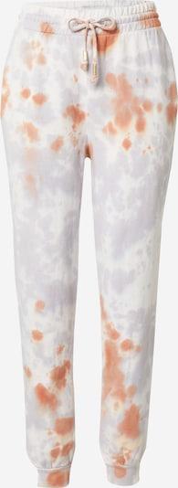 River Island Pantalon en violet pastel / orange foncé / blanc, Vue avec produit