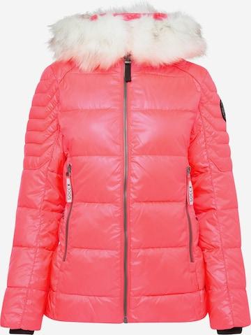Soccx Between-Season Jacket in Red