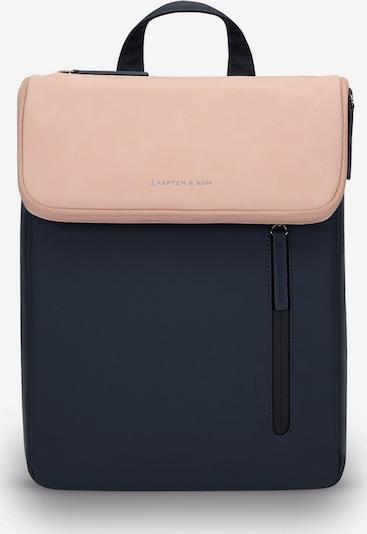 Kapten & Son Mochila 'Vallen' en azul oscuro / rosa, Vista del producto