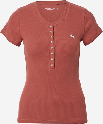 Abercrombie & Fitch Shirt in de kleur Pastelrood, Productweergave
