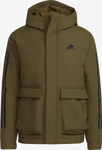 ADIDAS PERFORMANCE Athletic Jacket in Green