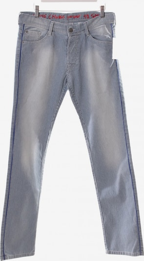 Each x Other Pants in S in Smoke blue / White, Item view
