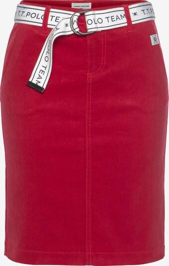 Tom Tailor Polo Team Rock in rot, Produktansicht