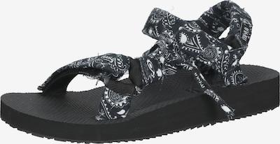 Meyla Bandana Sandale in schwarz / weiß, Produktansicht