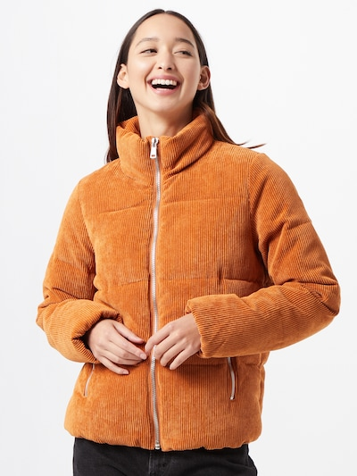 JACQUELINE de YONG Jacke in orange, Modelansicht