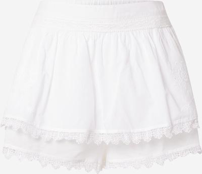 River Island Панталон в бяло: Изглед отпред