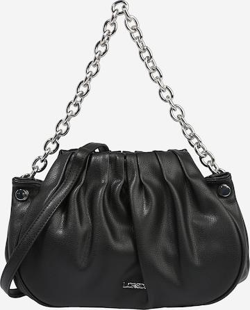 L.CREDI Τσάντα ώμου 'HELLENA' σε μαύρο