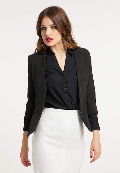 faina Blazer in schwarz, Modelansicht
