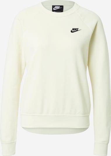 Nike Sportswear Блузон с качулка в черно / бяло, Преглед на продукта