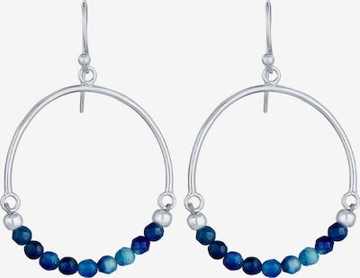 ELLI Boucles d'oreilles en bleu / argent, Vue avec produit