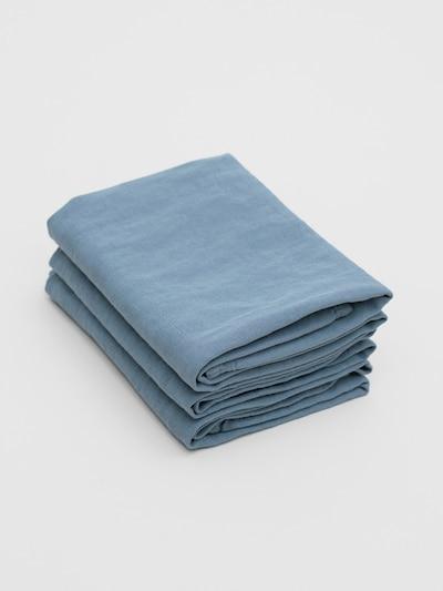 Erlich Textil Handdoek ' 3er-Pack Bente ' in de kleur Duifblauw, Productweergave