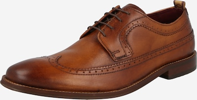 Pantofi cu șireturi base London pe maro ruginiu, Vizualizare produs