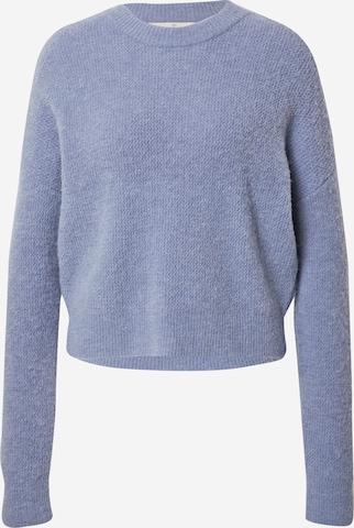 basic apparel Pullover 'Filippa' in Blau