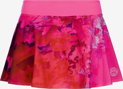 BIDI BADU Rock Zina Tech mit integrierten Shorts in pink / kirschrot, Produktansicht