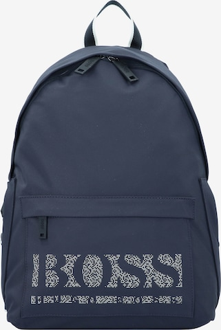 BOSS Casual Backpack 'Magnified' in Blue