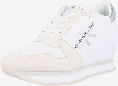 Sportbačiai su auliuku iš Calvin Klein Jeans , spalva - pilka / pudros spalva / juoda / balta, Prekių apžvalga