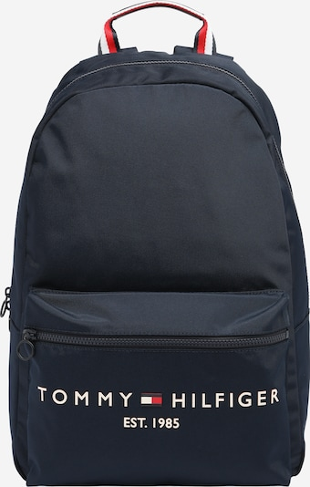 TOMMY HILFIGER Rygsæk i mørkeblå / rød / hvid, Produktvisning
