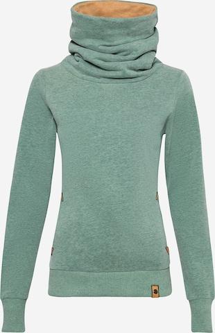 Fli Papigu Sweatshirt 'Bubble Butt' in Green