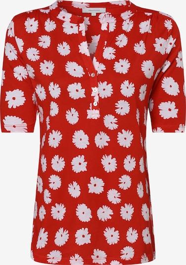 apriori Shirt in rot / weiß, Produktansicht